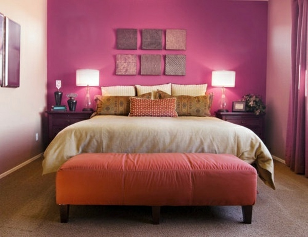 Color Ideas Bedroom – influential colors and decoration | Interior ...