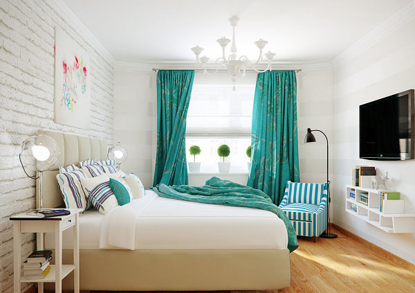 Blue Color Palette In Vibrant Interior Design Chic Relaxing