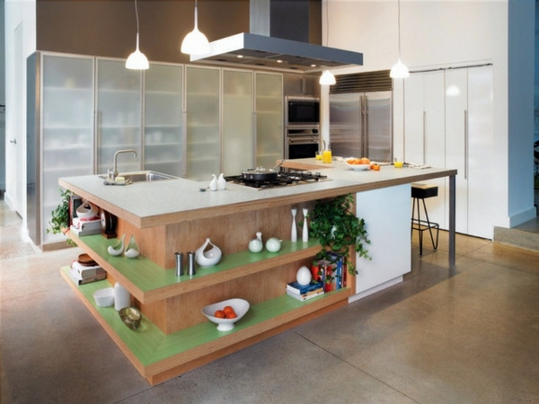Küchen   Set Up Your Modern Kitchen With A Cooking Island