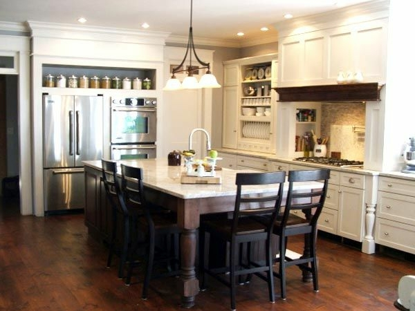 Kitchen Island And Dining Table In A Set Up Your Modern Kitchen With A Cooking  Island