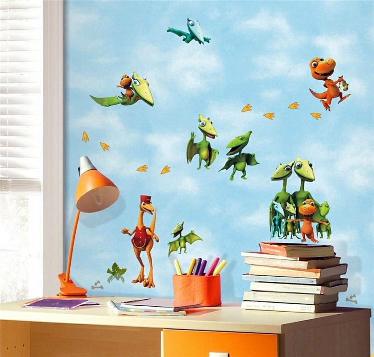 Nursery Wall Decal Liven Up The Room With Dinosaur Pictures - Dinosaur wall decals nursery