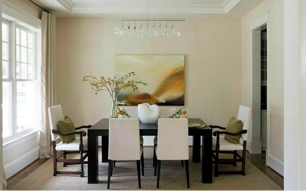 colors dining room furnishing ideas