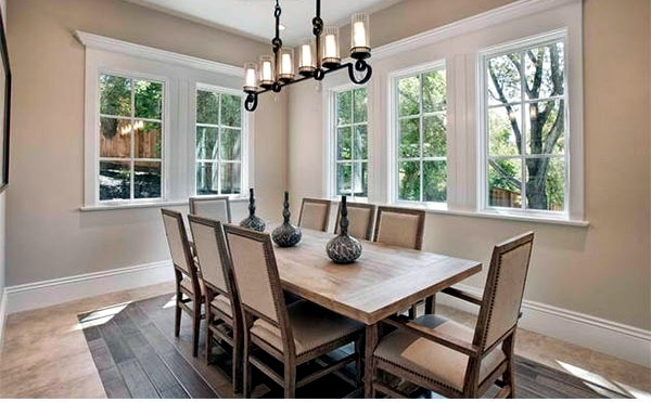 15 great ideas dining room in different shades of beige ...