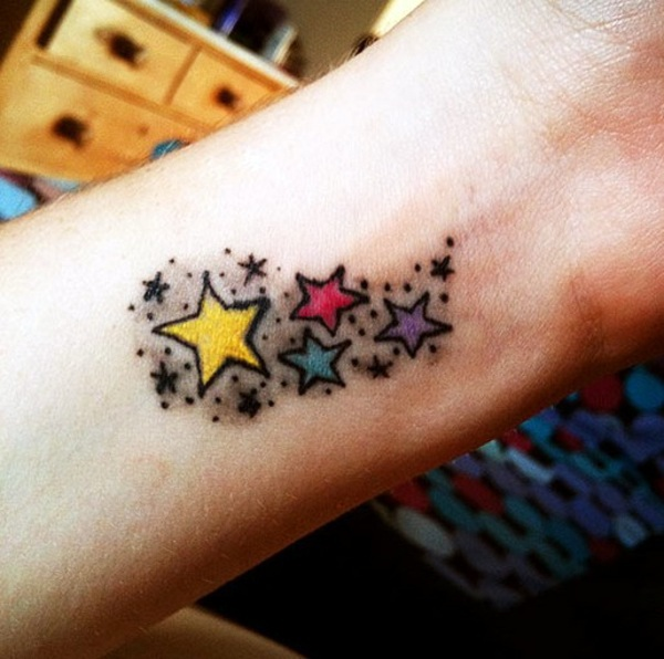 Tattoo Stars - Meaning and cool designs in pictures