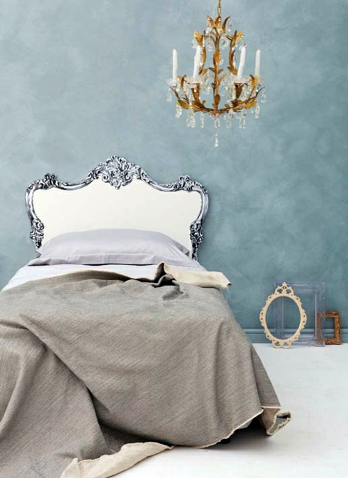 Kopfteil   Creative Decorating Ideas In The Bedroom   Chic Headboard Do It  Yourself