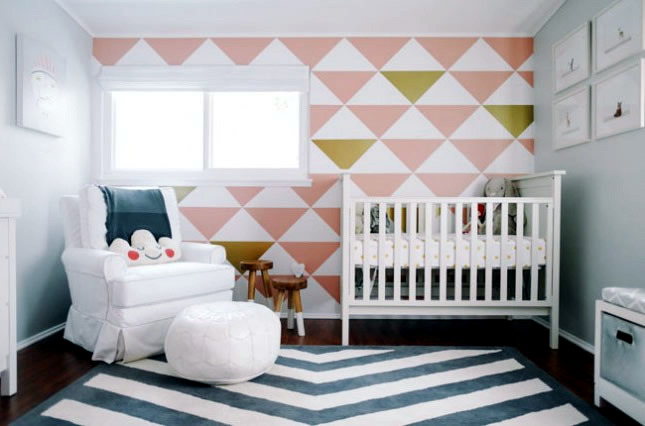 Elegant Kids Room Decoration With Pastel Colors And Animal