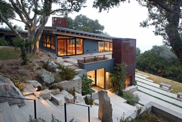 Organic Architecture Natural And Sculptural Features