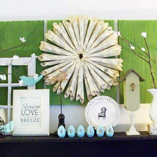Sayings Picture Frame Thematic Fr Hlingsdeko 32 Stylish Deco Ideas For Easter Adorn The Mantel