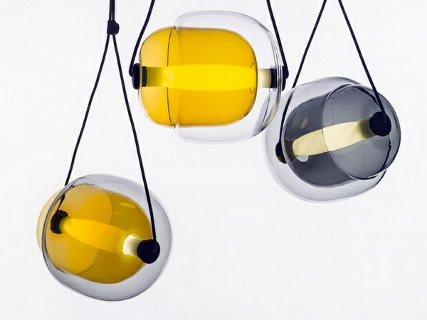 Capsula Hanging Lamps Of Lucie Koldova