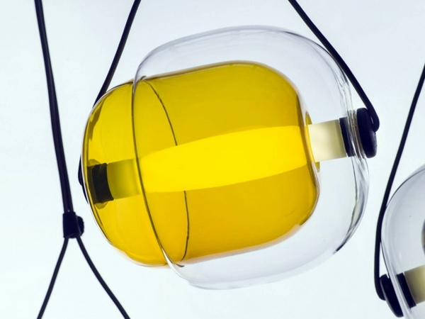 Industrial Look And Bright Windows Capsula Hanging Lamps Of Lucie Koldova