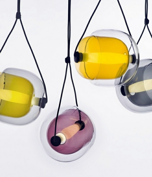 ... Capsula Hanging Lamps Of Lucie Koldova