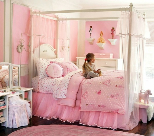 Pink Childrens Room Design Radiate Peace And Gentleness