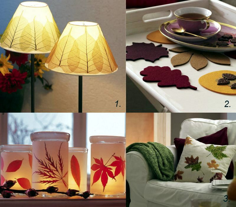 DIY   Do It Yourself   Autumn Decoration Ideas   Colorful Table Decoration  And Other Craft