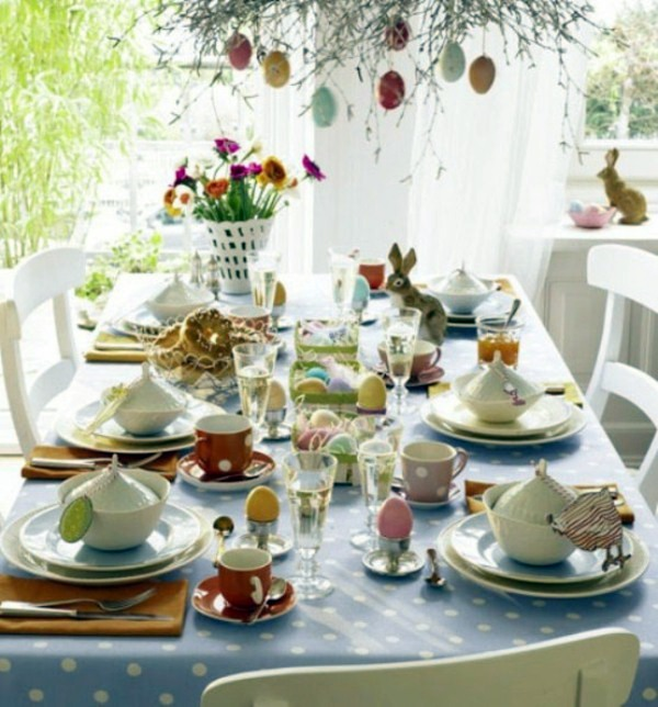 40 Easter Table Decoration Ideas For An Unforgettable Family Celebration