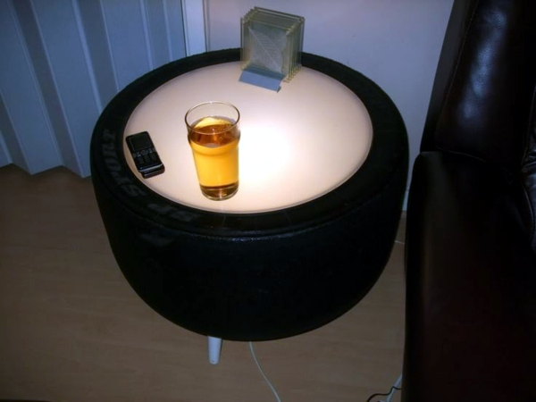 how to make tire furniture