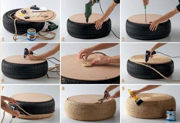 Great DIY Projects Make Interesting Furniture From Car Tires