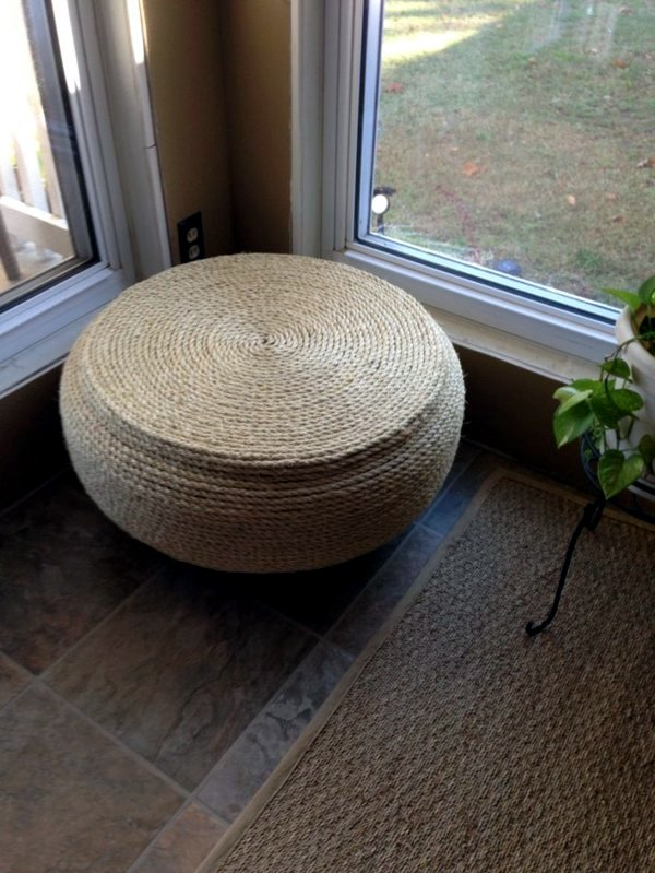 Great diy projects make interesting furniture from car for How to make tire furniture
