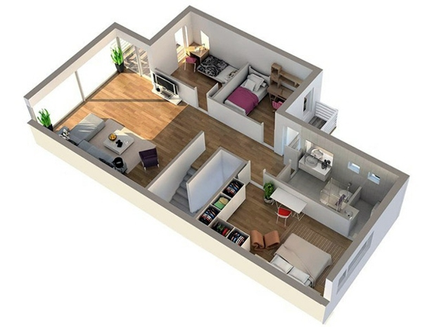 Nice Contemporary   Room Planner   Free 3D Room Planner Awesome Design