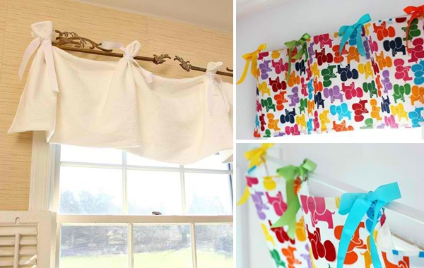 14 Feel Free Art Sew Curtains Themselves   20 Great DIY Curtains Ideas