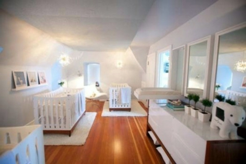 12 gorgeous baby room design ideas for multiple births Interior