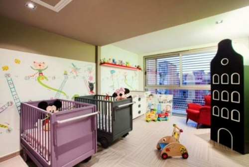 Gorgeous Baby Room Design Ideas For Multiple Births Interior - Baby rooms designs