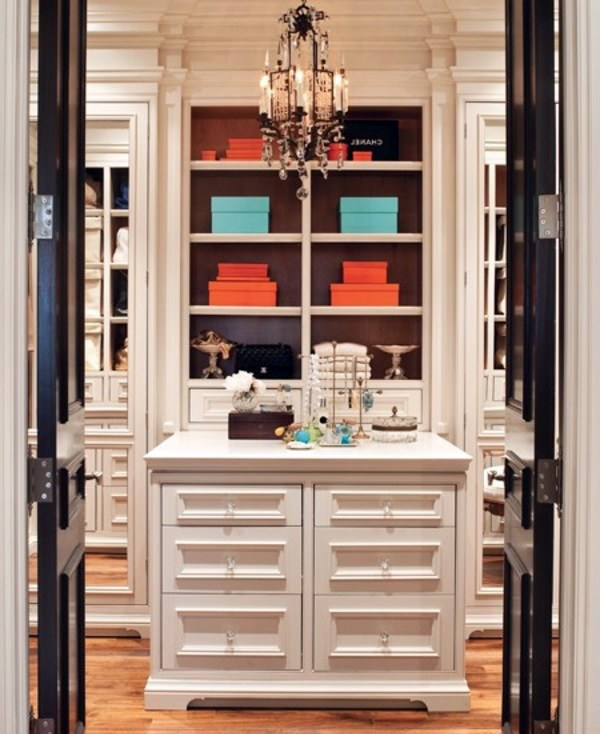 hidden closet door ideas - Set dressing – 20 design ideas and walk in closets