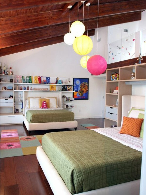 Designed 20 comfortable rooms with sloping ceilings youth | Interior ...