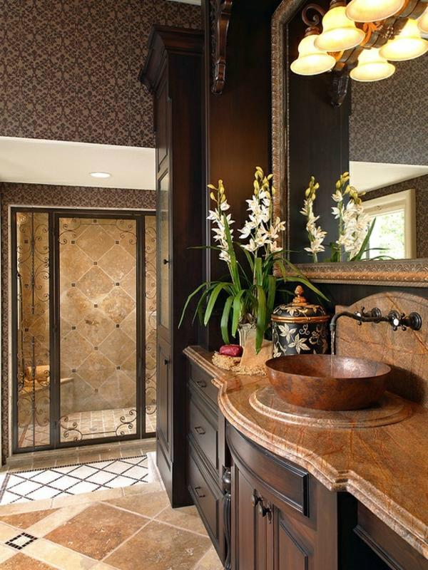 The Bathroom Mediterranean Interior Design Ideas