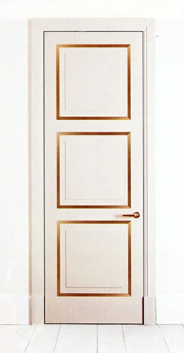 Square gold 25 white interior doors ideas for your interior design