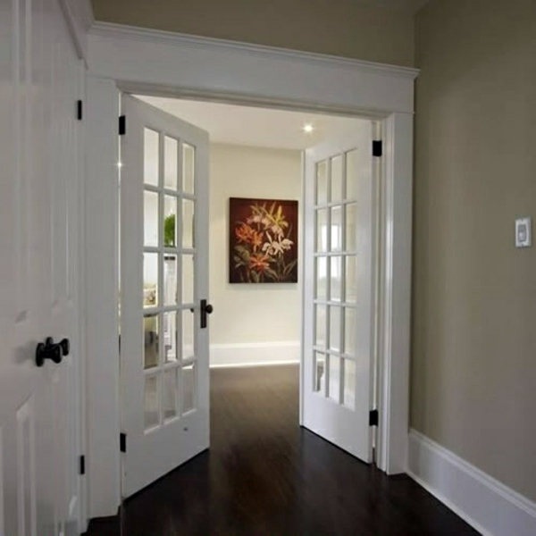 25 white interior doors ideas for your interior design interior double doors with glass ornaments 25 white interior doors ideas for your interior design planetlyrics Gallery