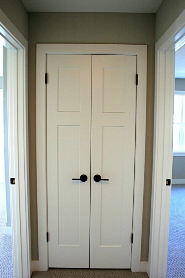 White Interior Doors. Generating Contrast Black Door Handles 25 ...