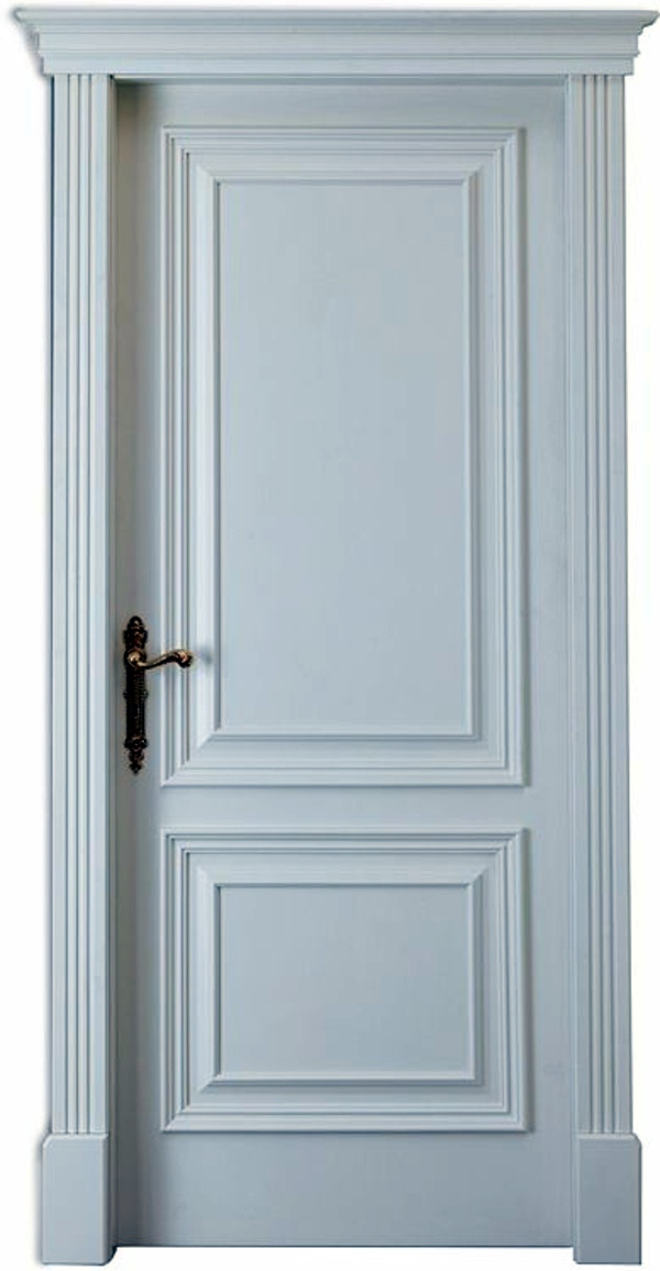 Classic look with gold handle 25 white interior doors ideas for your interior  design