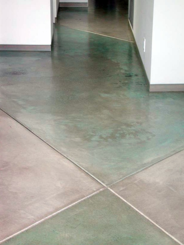 Concrete floor the main advantages and some practical for Vinegar on concrete floor