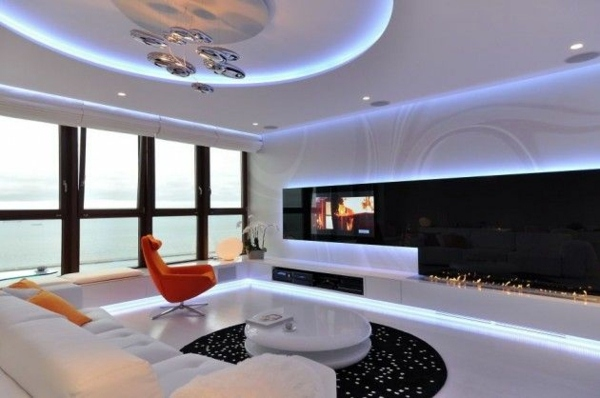 Luxury Lounge With Soft Lighting To Make 30 Design Ideas Modern Living Room