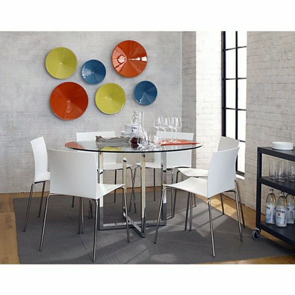 Round Dining Tables That Can Totally Transform Any Kitchen - Cb2 round glass table