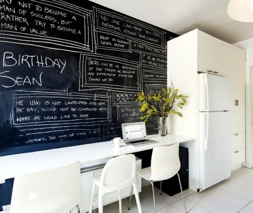 Beautiful Ideas For Practical Classic Chalkboard At Home