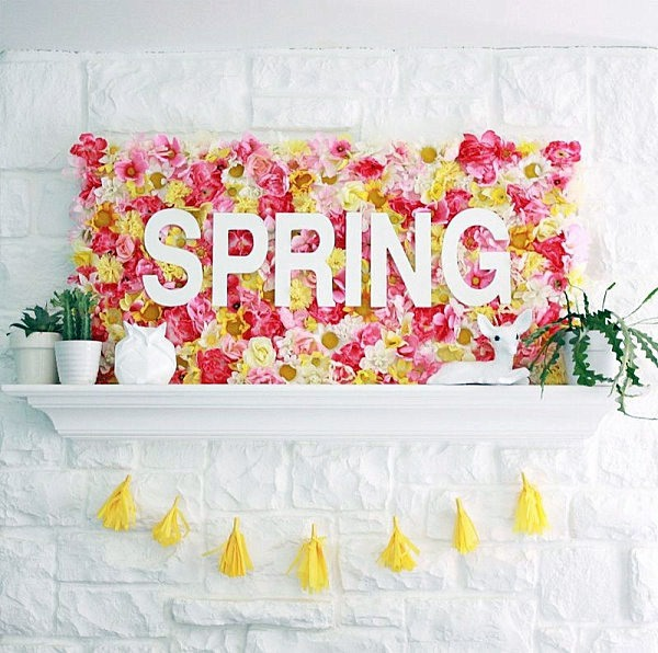 18 Spring Decor Ideas: Unique Decorating Ideas And Tips For Spring Parties