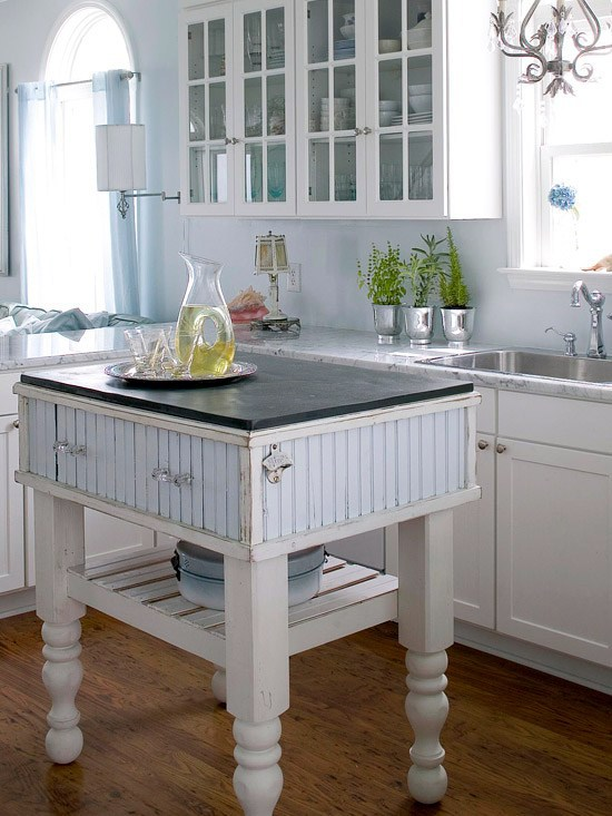 Calm And Country Kitchen Island Ideas For Small Space