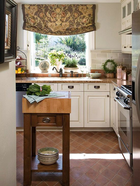 Kitchen island ideas for small space interior design for Kitchen ideas for small spaces