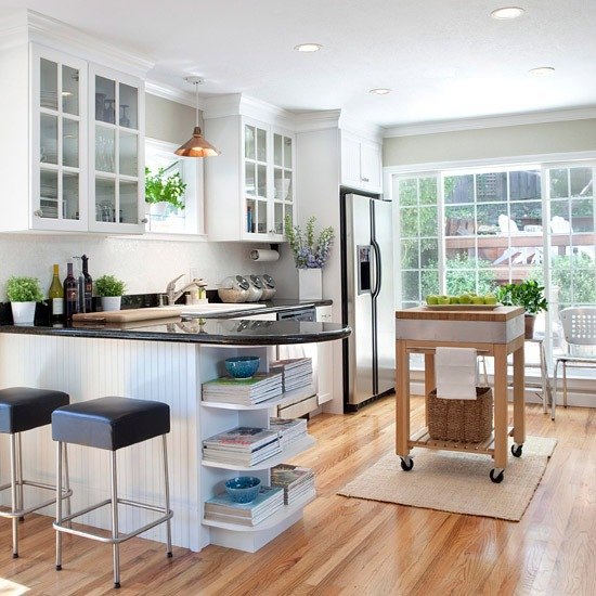 Kitchen Layout Peninsula: Kitchen Island Ideas For Small Space