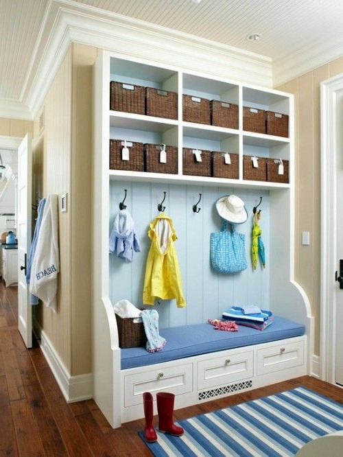 white narrow cabinet