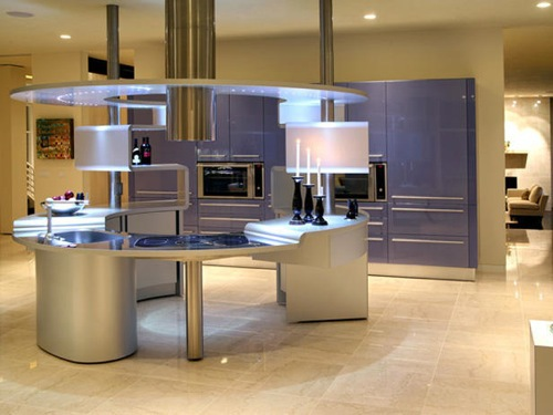 Brilliant Kitchen Interior - metal surface 10 amazing modern kitchen  interior - original ideas