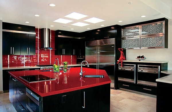 The Moulin Rouge Style 45 Super Popular Colors For Kitchen Cabinets