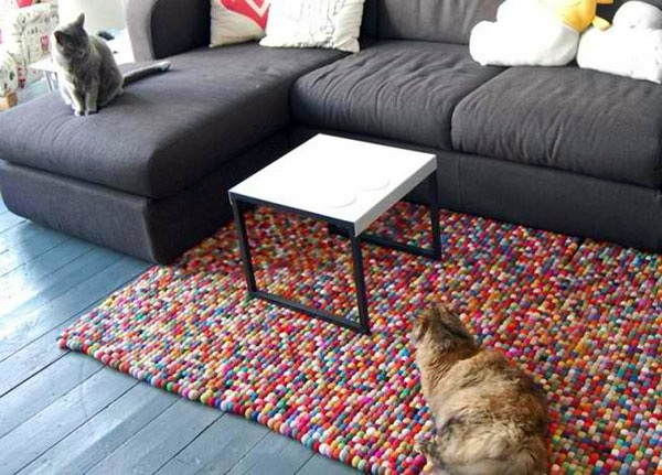 Diy Rugs And Doormats Colored And Colorful Live