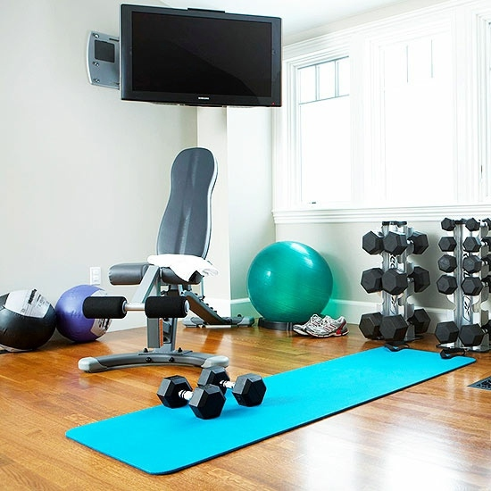 home gym ideas in garage - Remodel the garage so that you can turn this into a hobby