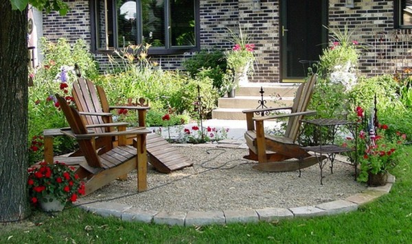 Garden Furniture On Gravel fine garden furniture on gravel of exterior antique in design