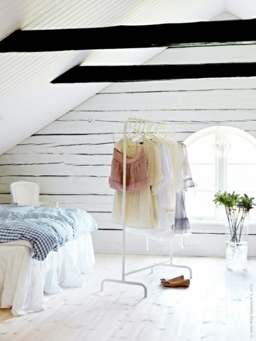 Dressing room design – 40 beautiful and fine ideas for your wardrobe ...