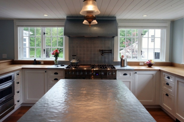 Kücheninsel - Kitchen countertops and the five best matching materials next to the granite