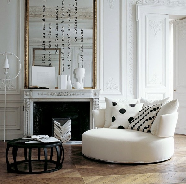 Apartment Design Ideas in French style | Interior Design Ideas ...