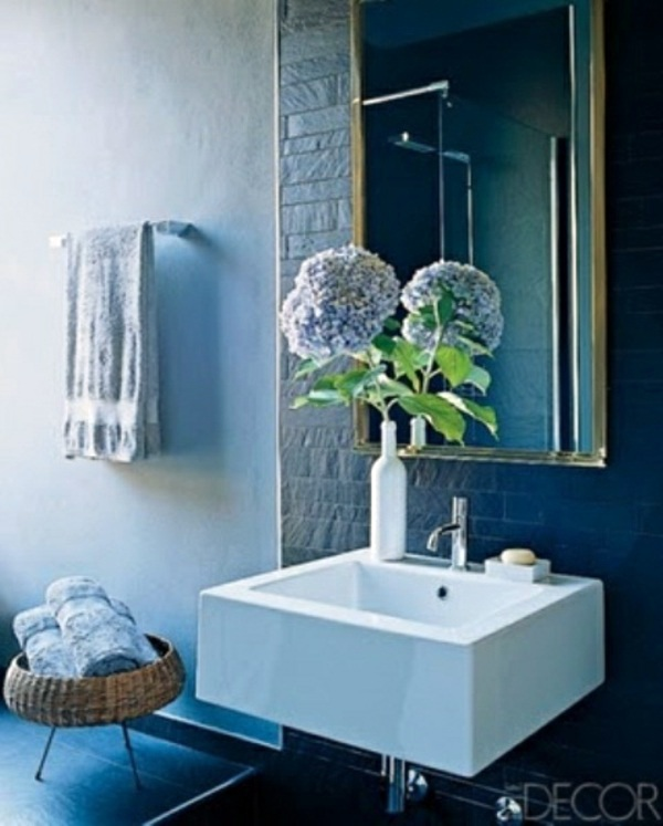 Bathroom design with flowers and plants original ideas for Spring bathroom ideas